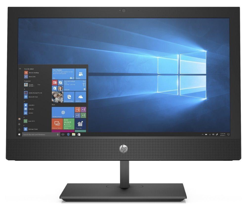 """HP ProOne 400 G5 AiO/ i5-9500T/ 8GB DDR4/ 256GB SSD/ Intel UHD 630/ 20"""" HD+ TN/ DVDRW/ W10P/ Černý +kbd,myš 7PH16EA#BCM"""