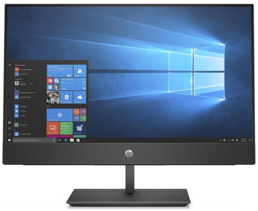 "HP ProOne 440 G5 AiO/ i3-9100T/ 4GB DDR4/ 1TB (7200)/ Intel UHD 630/ 23,8"" FHD IPS/ DVD-RW/ W10P/ Černý +kbd,myš 7EM64EA#BCM"