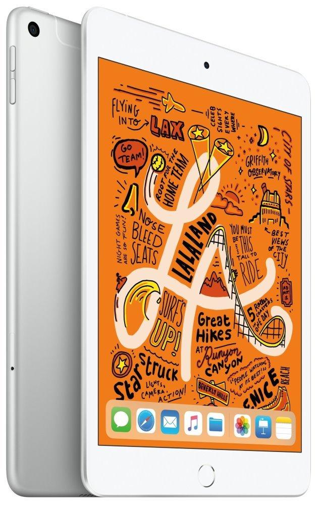 Apple iPad mini Wi-Fi + Cellular 256GB - Silver muxd2fd/a