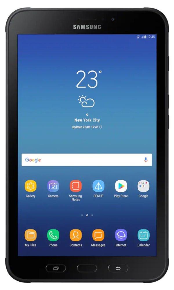 """SAMSUNG tablet Galaxy Tab Active2/ Octa-Core/ 3GB/ 16GB/ 8"""" WXGA IPS/ NFC/ GPS/ BT/ LTE/ Android 7.1/ černý/ až 11h SM-T395NZKAXEZ"""