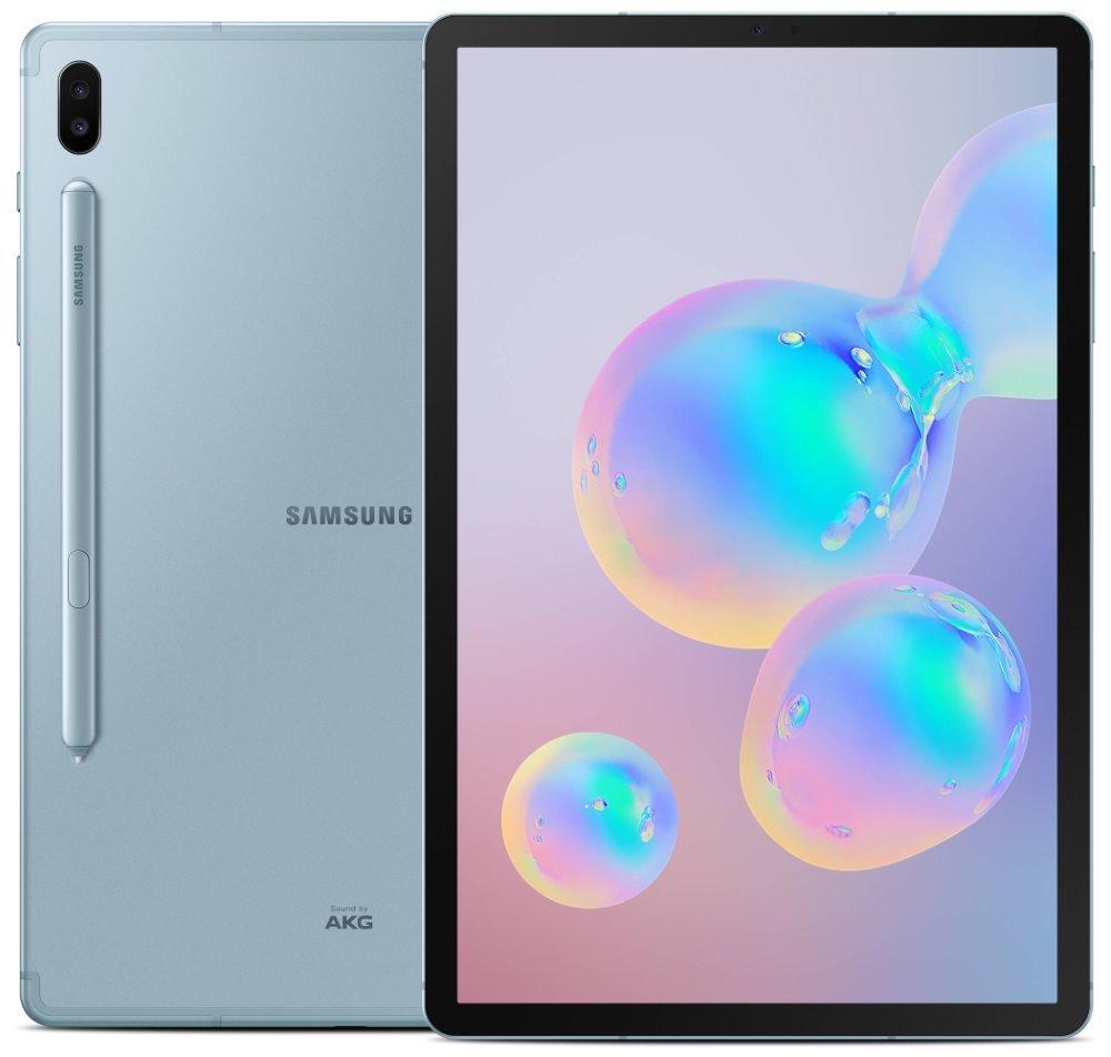 "SAMSUNG Galaxy Tab S6 10.5 LTE - blue   10,5"" Super AMOLED/ 128GB/ 6GB RAM/ LTE/ Android 9 SM-T865NZBAXEZ"
