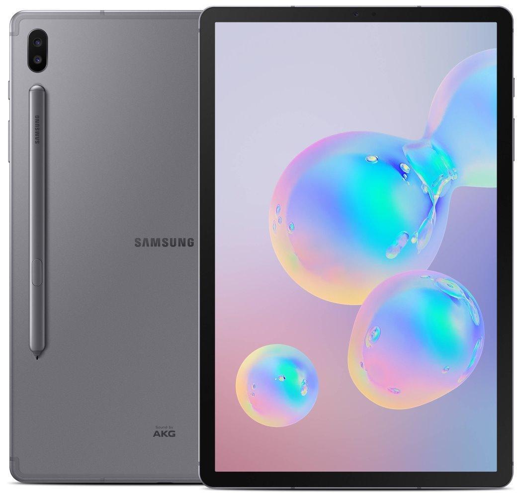 "SAMSUNG Galaxy Tab S6 10.5 WiFi - grey   10,5"" Super AMOLED/ 128GB/ 6GB RAM/ WiFi/ Android 9 SM-T860NZAAXEZ"