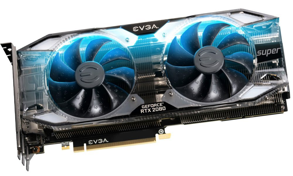 EVGA GeForce RTX 2080 SUPER XC ULTRA GAMING /  8GB GDDR6 /  PCI-E / 3x DP / HDMI / USB Type-C 08G-P4-3183-KR
