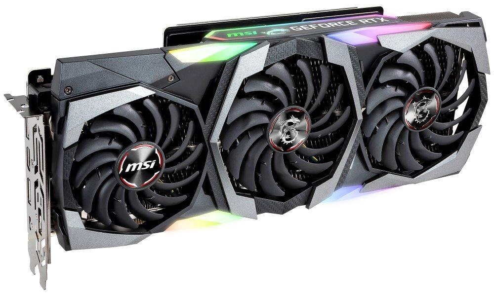 MSI GeForce RTX 2080 SUPER GAMING X TRIO / 8GB GDDR6  / PCI-E / 3x DP / HDMI / USB Type-C RTX 2080 SUPER GAMING X TRIO