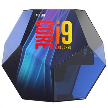 INTEL Core i9-9900KF / Coffee-Lake R / LGA1151 / max. 5,0GHz / 8C/16T / 16MB / 95W TDP / bez VGA / BOX bez chladiče BX80684I99900KF