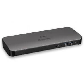 i-tec dokovací stanice THUNDERBOLT 3/ duální 4K/ 2x Thunderbolt 3/ 5x USB 3.0/ 1x HDMI/ 1x LAN/ 1x čtečka SD/ audio TB3HDMIDOCK