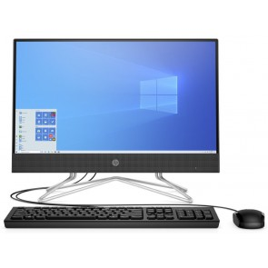 "HP 22-df0001nc/ AiO/ Celeron J4025/ 4GB DDR4/ 1TB (7200)/ 22"" FHD/ Wifi/ W10H/ Černý/ kbd,myš 259R0EA#BCM"