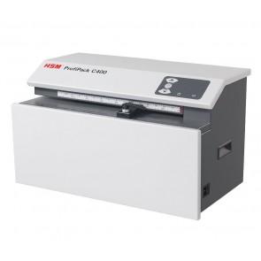 HSM perforátor kartonů ProfiPack C400/ příkon 1200W/ 395 x 610 x 375 mm/ váha 47 kg/ šedý 4026631062695