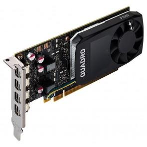 PNY Quadro P1000 V2 DVI / 4GB GDDR5 / PCI-E / 4x miniDP 1.4 / Low profile bracket v balení VCQP1000DVIV2-PB